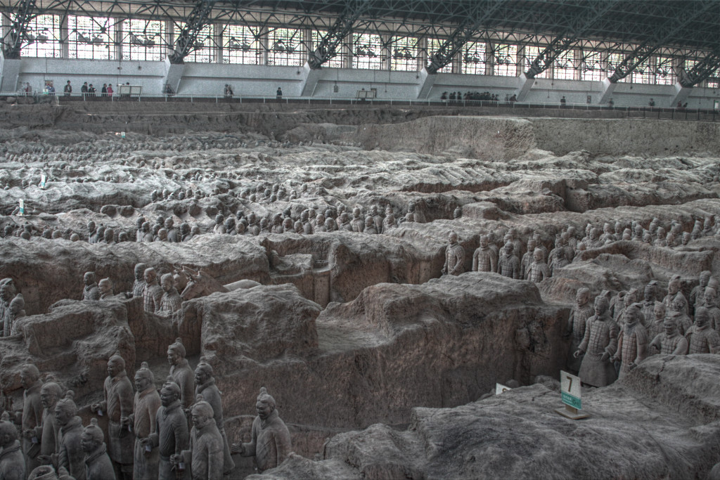 Terracotta Army, Exhibition Hall 1